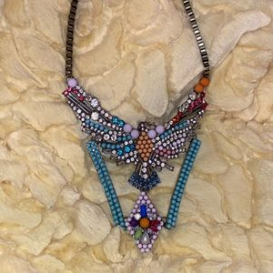 Gorgeous rhinestone necklace
